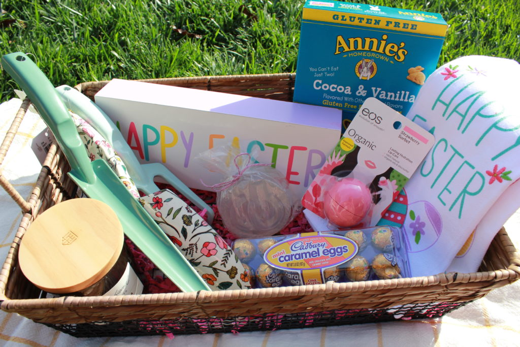 His hers grown up easter baskets ourfineday heres the final look negle Choice Image
